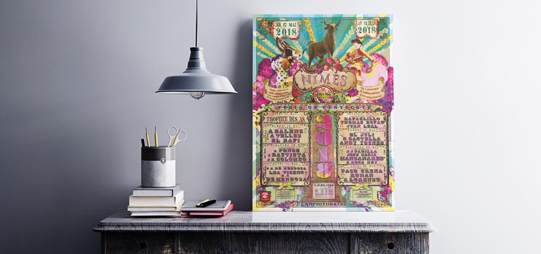 affiche corrida 2018