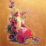 flamenca peinture nimes