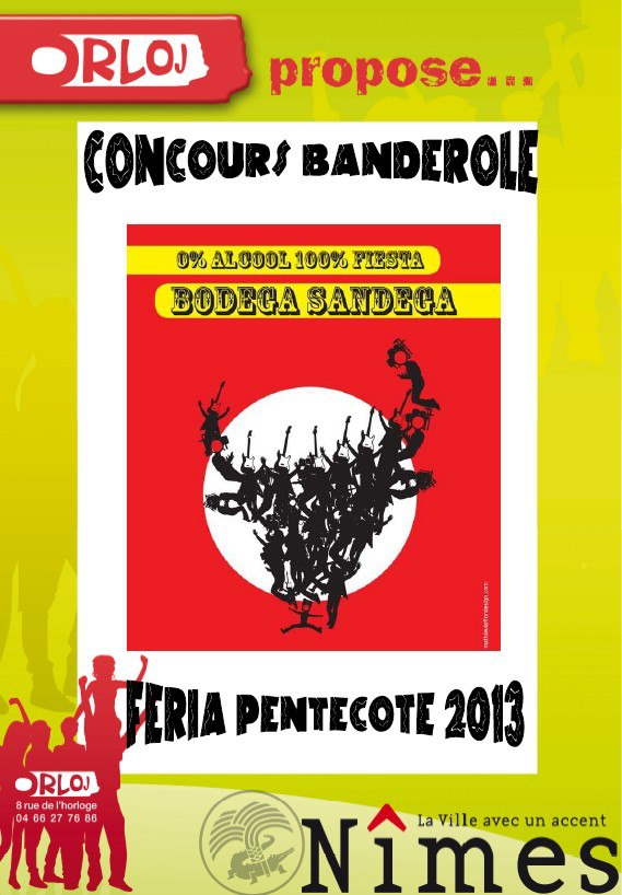 Concours Banderole Bodga SANDEGA !