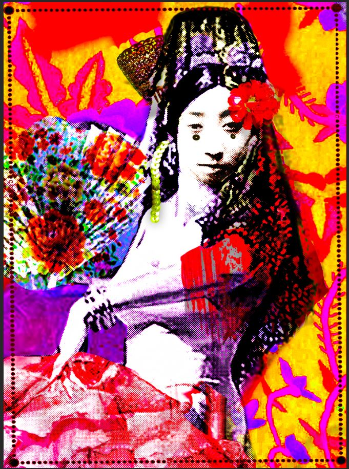 flamenca sevillane,japon