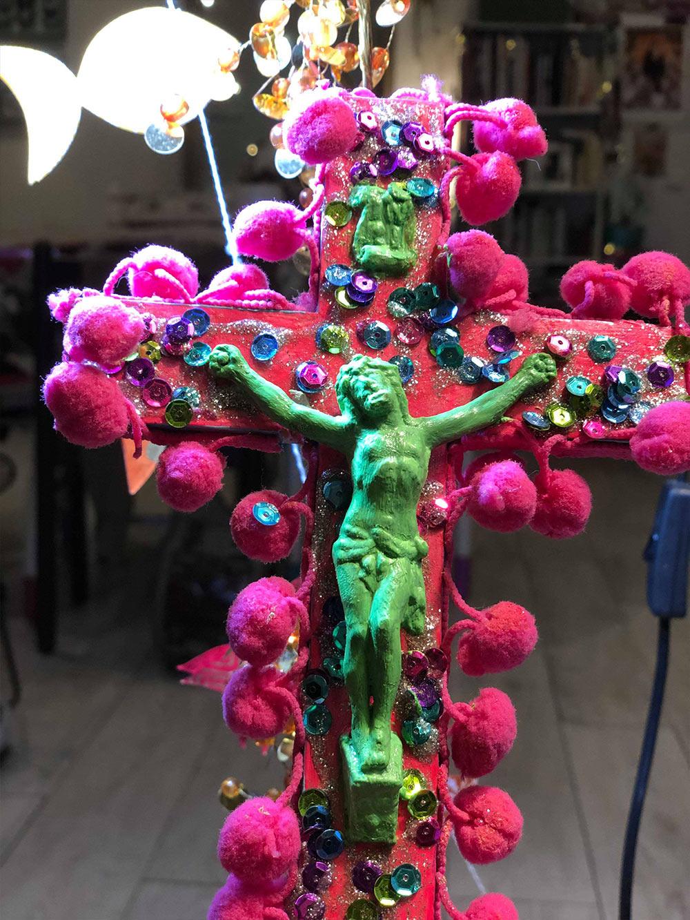 croix customisée