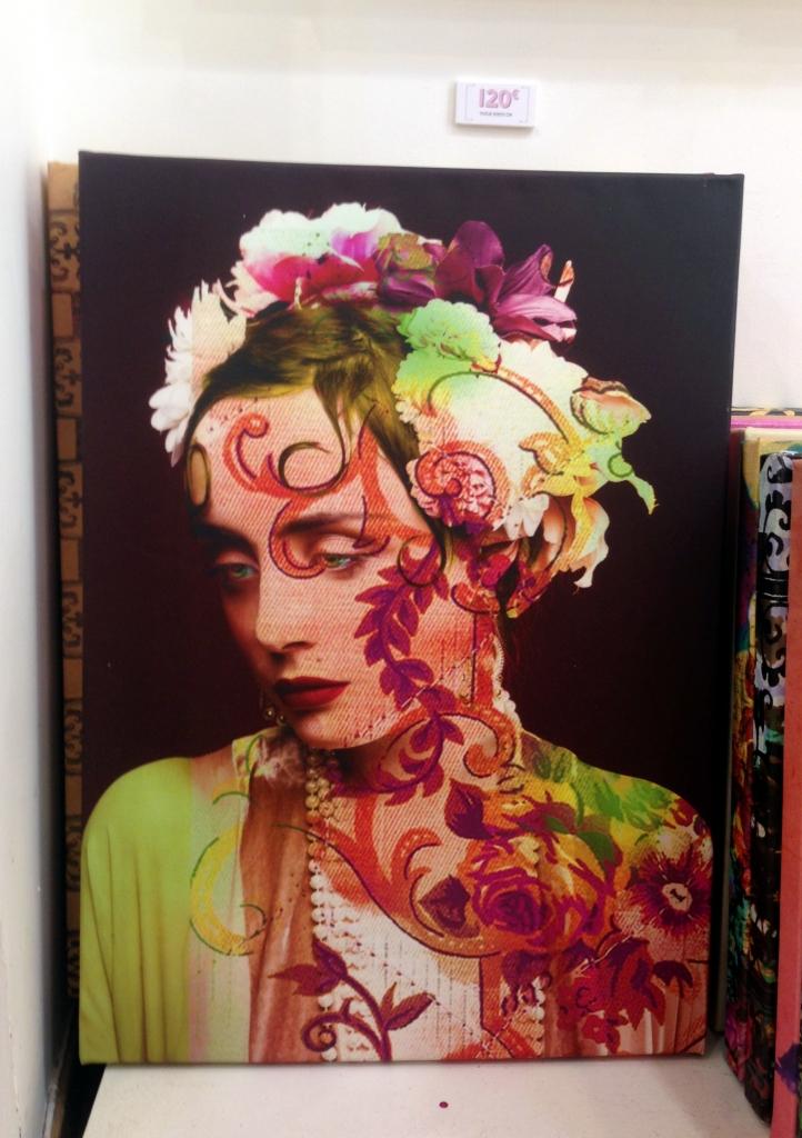 flamenca nimes toiles peintures