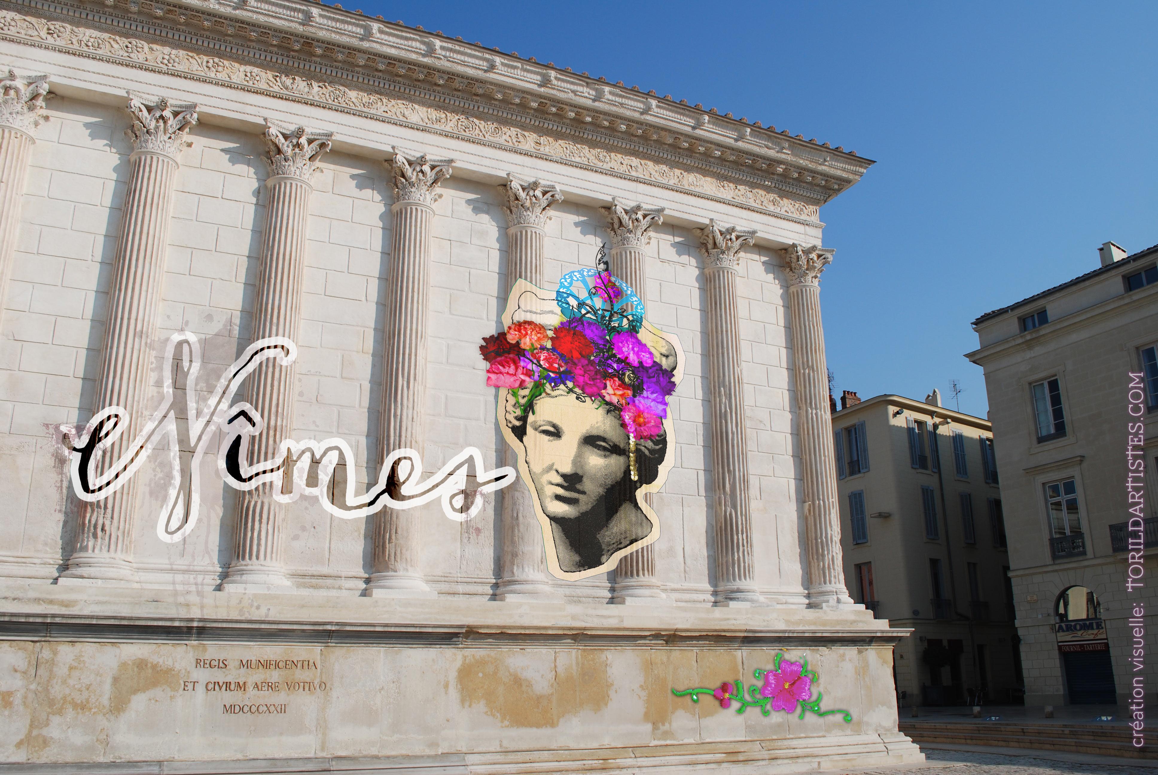 Affiche Nîmes street Art