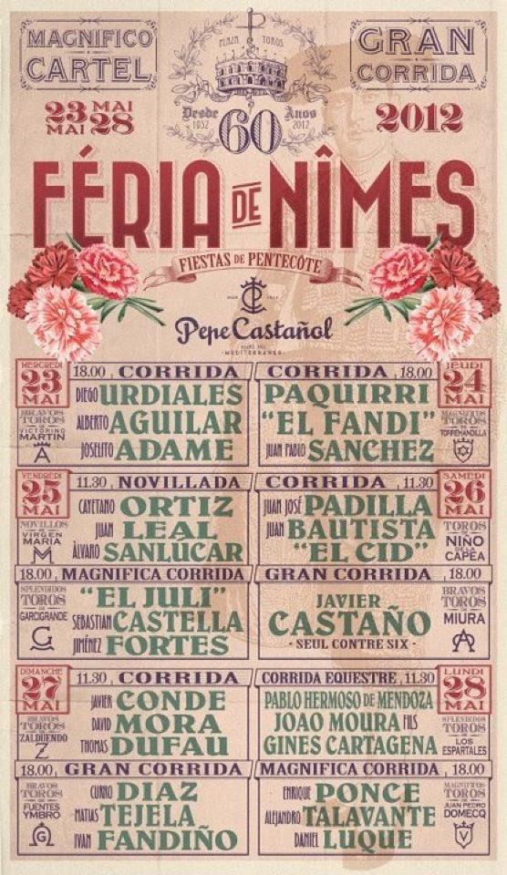 Feria Nîmes Affiche L'1so- Où Ai-Je La Tête ?