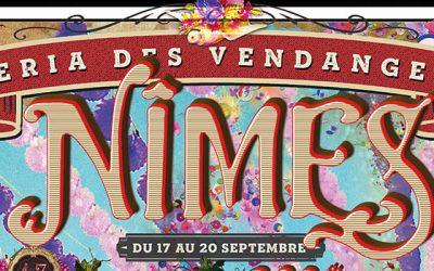 L'affiche de Nîmes pour la Féria des vendanges 2020
