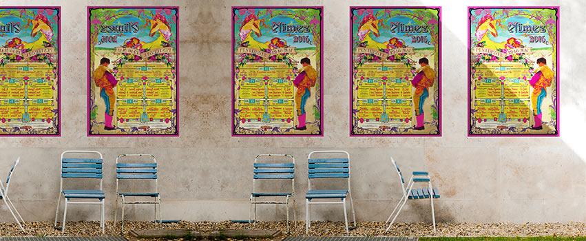 L'affiche  2016 Féria de Nîmes Pentecôte