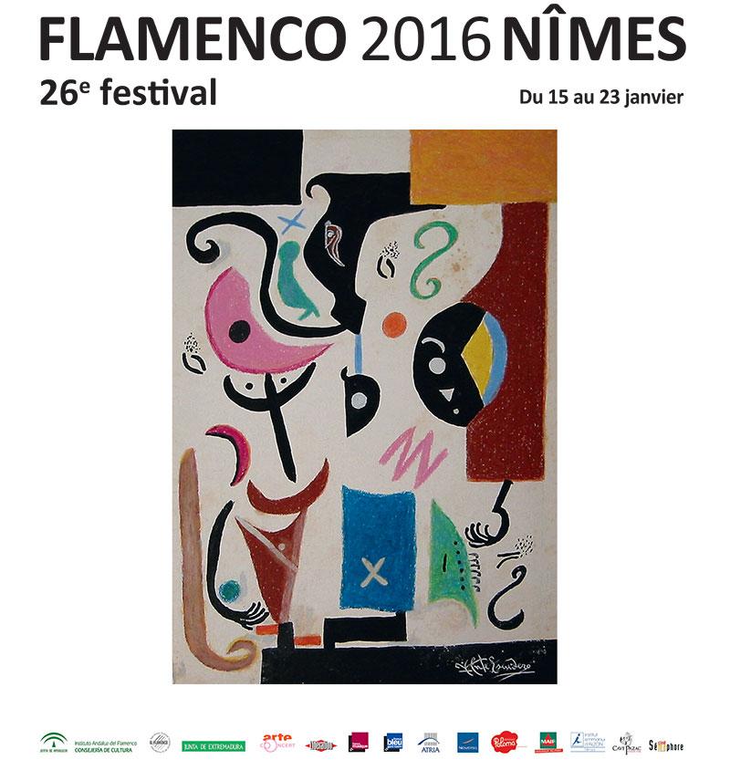 affiche-nimes-festival-flamenco 2015