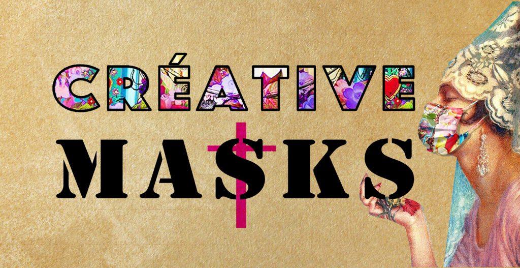 les créations de masques en tissus créatifs