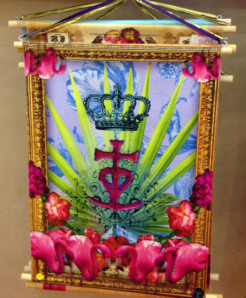 croix-camargue-fleur-flamants