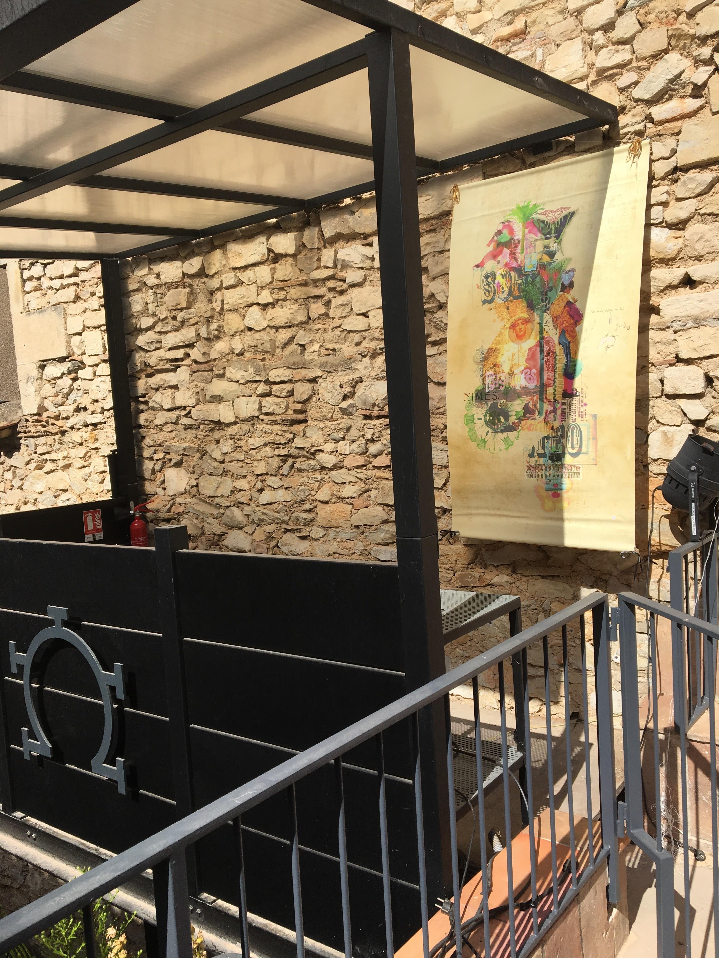 le toril d'artistes chez pablo Romero