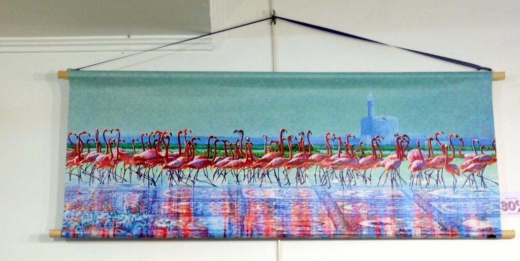 flamant-rose-camargue-aigues-mortes-affiche