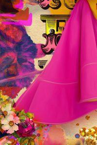 detail du foulards de toril d'artistes