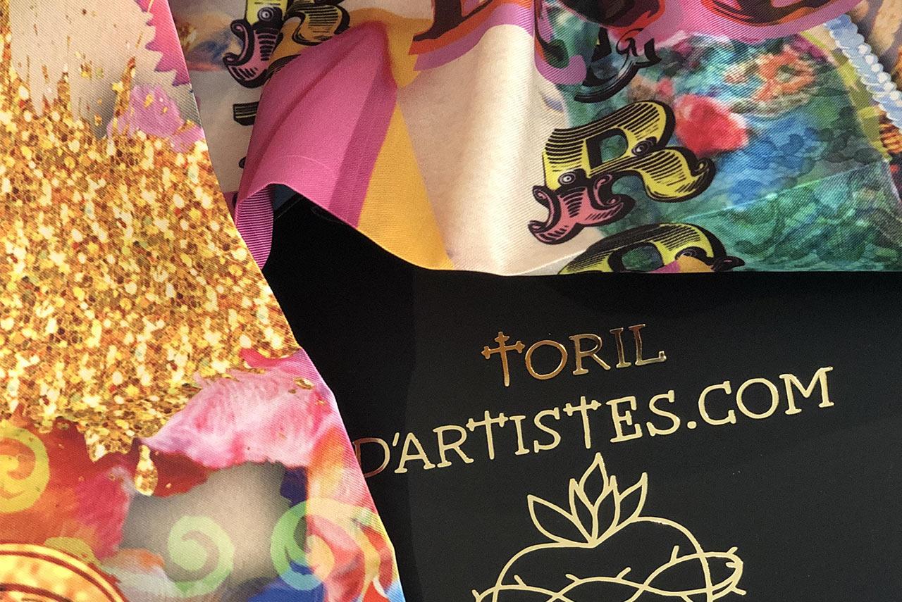 foulards toril artistes