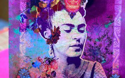 Les Posters A4 avec des Frida, des Sara, et des Croix