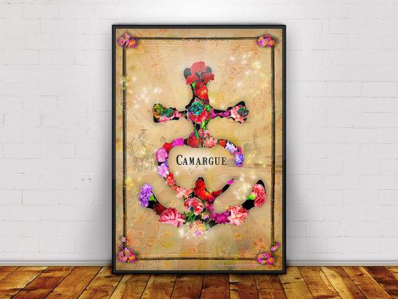 croix camargue oeillet