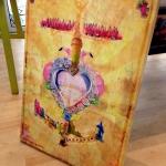 jul toile 50x70 120€ croix camarguaise 150x150 Les Artistes