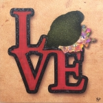 love toros peinture nimes 150x150 Les Artistes