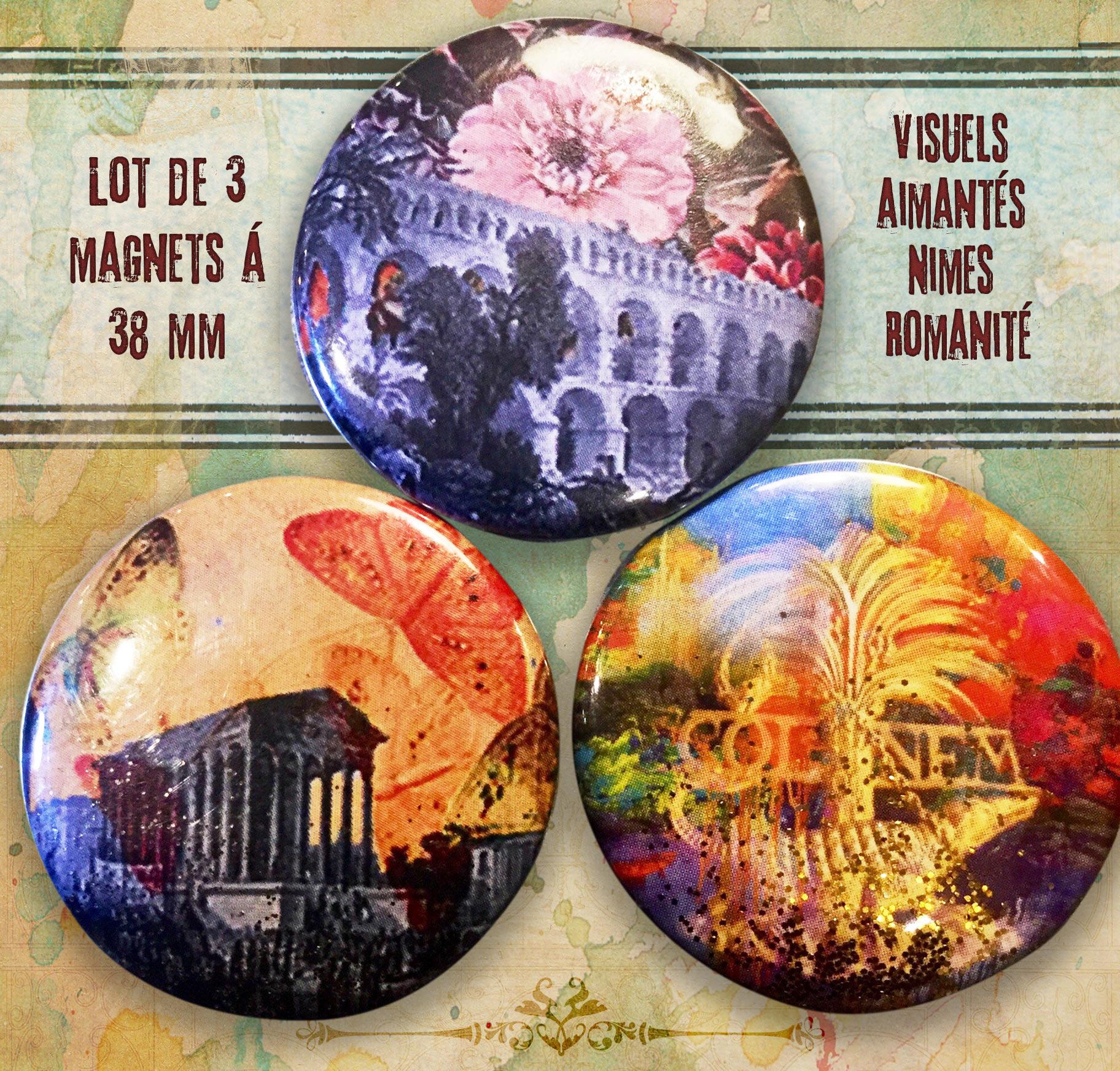 magnet romanité nimes monuments