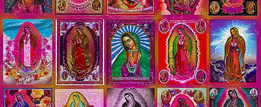 Mosaïque Virgen de Guadalupe