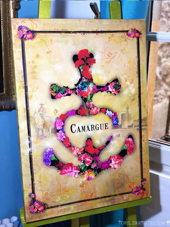 toile croix camargue