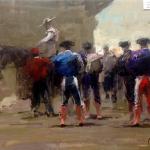 Torero1, 46x38 cm, Prix : 500€
