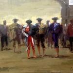 Torero4, 46x38 cm, Prix : 400€
