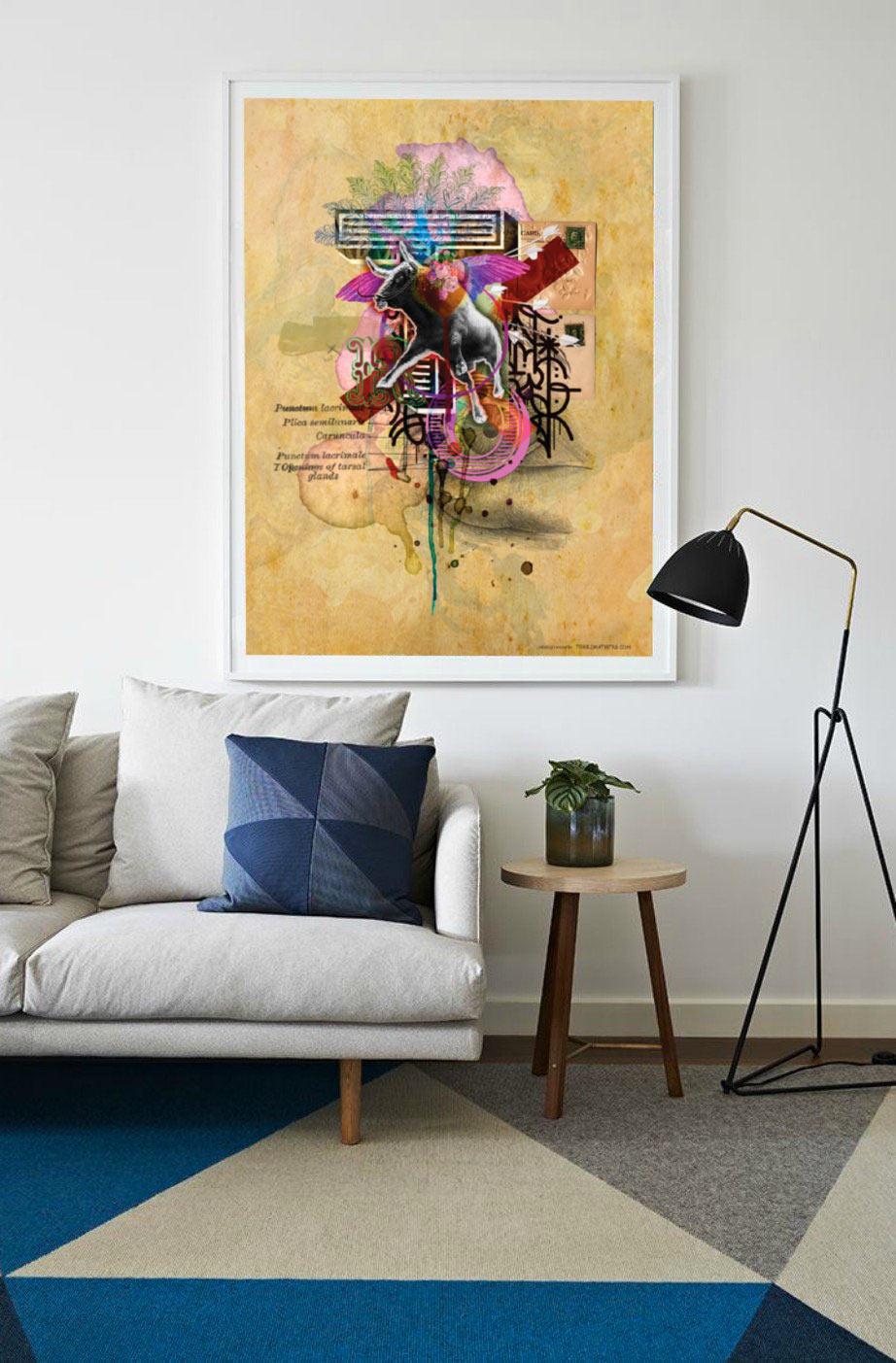 toro ailé poster affiche toril artistes